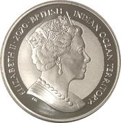 1 royal - Elizabeth II (Tortue de mer) – avers