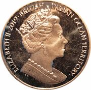 2 Pounds - Elizabeth II – avers