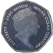 50 Pence - Elizabeth II (Cutty Sark) – avers