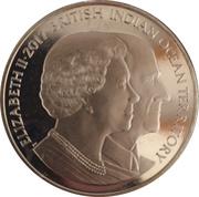 2 pounds Elizabeth II et Prince Philip – avers