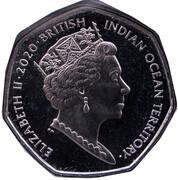 50 Pence - Elizabeth II (Florence Nightingale) – avers