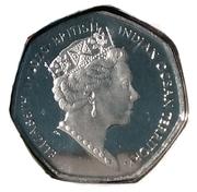 50 Pence - Elizabeth II (Father Christmas) – avers