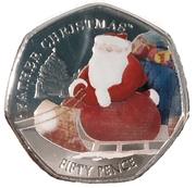 50 Pence - Elizabeth II (Father Christmas) – revers
