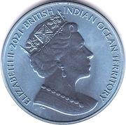 2 Pounds - Elizabeth II (Parrot fish) – avers