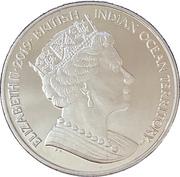 2 pounds - Elizabeth II (Fou à pieds rouges) – avers