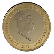 2 Pound - Elizabeth II (The Lion of England) – avers