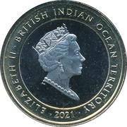 2 Pound - Elizabeth II (The White Greyhound of Richmond) – avers