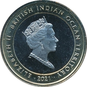 2 Pounds - Elizabeth II (The Yale of Beaufort) – avers