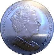 2 Pounds - Elizabeth II (Blue Midnight Manta Ray) – avers