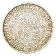 ⅛ dollar George IV – avers