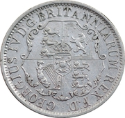 ¼ dollar George IV – avers