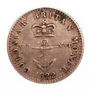 1/16 dollar George IV – revers