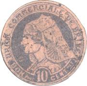 10 centimes - Union commerciale de Brive [19] – avers