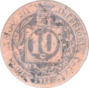 10 centimes - Union commerciale de Brive [19] – revers