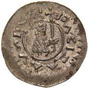 Denar - Bretislaus II & Vracislaus II – avers