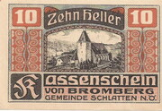 10 Heller (Bromberg) – avers