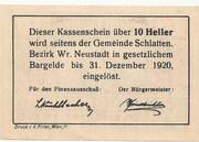 10 Heller (Bromberg) – revers