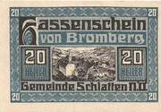 20 Heller (Bromberg) – avers
