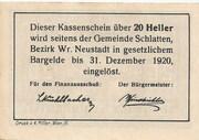 20 Heller (Bromberg) – revers