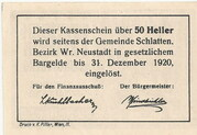 50 Heller (Bromberg) -  revers