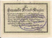 50 Heller (Bruck – Waasen) -  revers