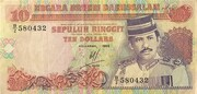 10 Ringgit / Dollar – avers