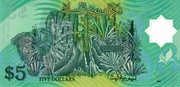 5 Dollars 2002 – revers