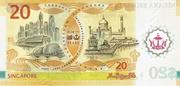 20 Dollar 2007 Interchangeability – revers