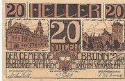 20 Heller (Brunn am Gebirge) – avers