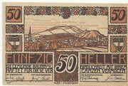 50 Heller (Brunn am Gebirge) – avers