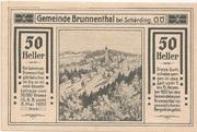 50 Heller (Brunnenthal) -  avers