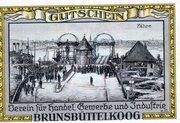 50 Pfennig (Brunsbüttelkoog; Verein für Handel, Gewerbe und Industrie) – revers