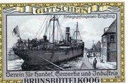 75 Pfennig (Brunsbüttelkoog; Verein für Handel, Gewerbe und Industrie) – revers