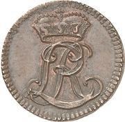 1 Pfennig - Ludwig Rudolf – avers