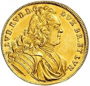 1 ducat Ludwig Rudolf (Reformation) – avers