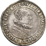 ½ Thaler - Wilhelm VI August – avers