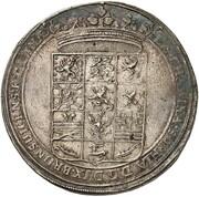 1 thaler Georg Wilhelm (mort de Katharina Sophia) – avers