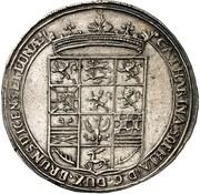 ½ thaler Georg Wilhelm (mort de Katharina Sophia) – avers