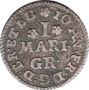 1 Mariengroschen – avers