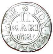2 mariengroschen Georg Wilhelm – revers