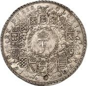 4 thaler Johann Friedrich – avers