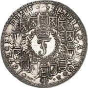1½ thaler Johann Friedrich – avers