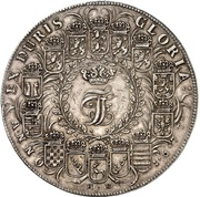 2¼ thaler Johann Friedrich – avers