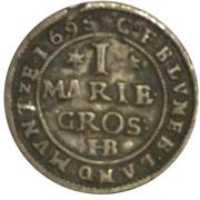 1 mariengroschen Georg Wilhelm – avers