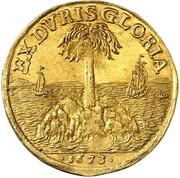 1 ducat Johann Friedrich – revers