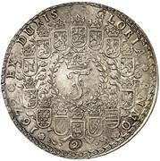 2 Thaler - Johann Friedrich (Harz - Ausbeute - Löser) – avers