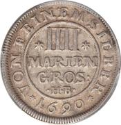 4 Mariengroschen - Ernst August – revers