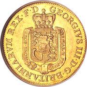 5 Thaler - George III – avers