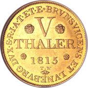 5 Thaler - George III – revers