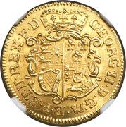 1 goldgulden George II August – avers